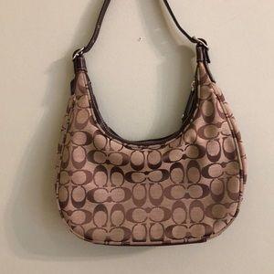 Basic style coach mini bag